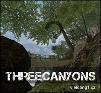 Mapa: ThreeCanyons